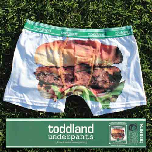 Custom clothing labels for Toddland Underpants printed by StickerGiant