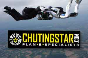 Custom Rectangle Stickers for Chutingstar Skydiving Education Center in Georgia printed by StickerGiant