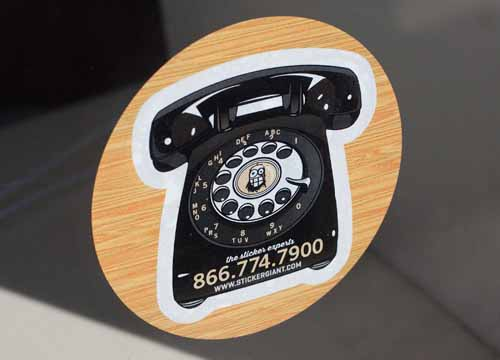 Round-Stickers-with-a-Rotary-Phone-Design-printed-by-StickerGiant