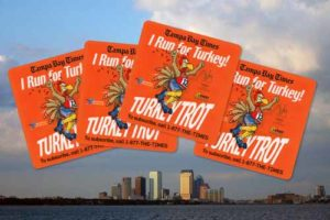 Custom Stickers for Tampa Bay Times Turkey Trot