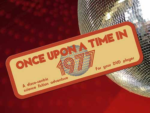 Custom Stickers that say Once Upon a Time in 1977 - stickers printed by StickerGiant