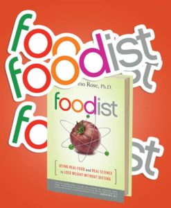 Die Cut Stickers printed by StickerGiant with Custom Shapes for Foodist Book