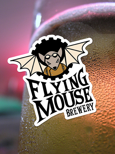 Flying Mouse Brewery Sticker