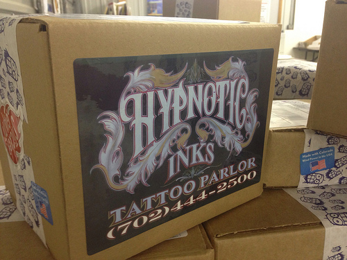 Hypnotic Inks Tattoo Parlor Sticker