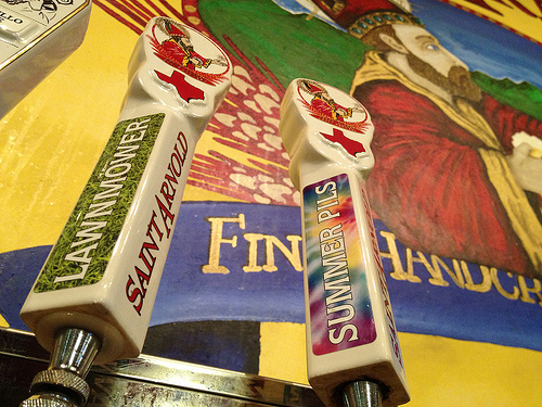 Saint Arnold's Beer Tap Stickers