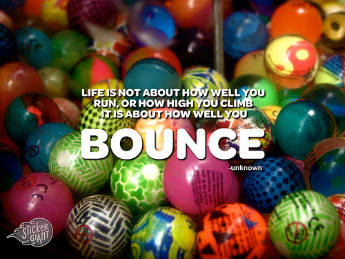 It's all about the bounce!