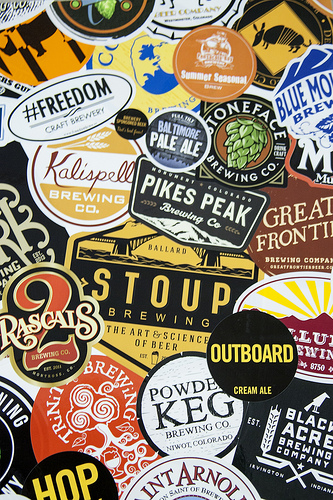 Collage-of-Brewery-Stickers-Printed-at-StickerGiant