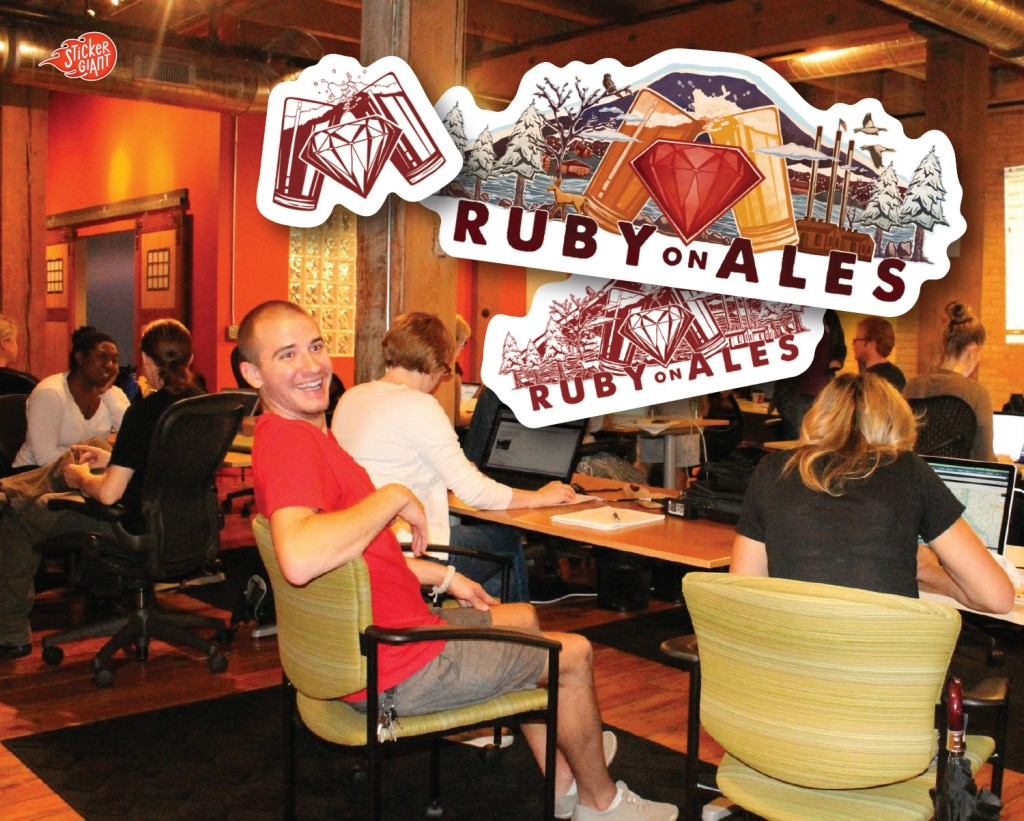 Ruby on Ales 2014 stickergiant