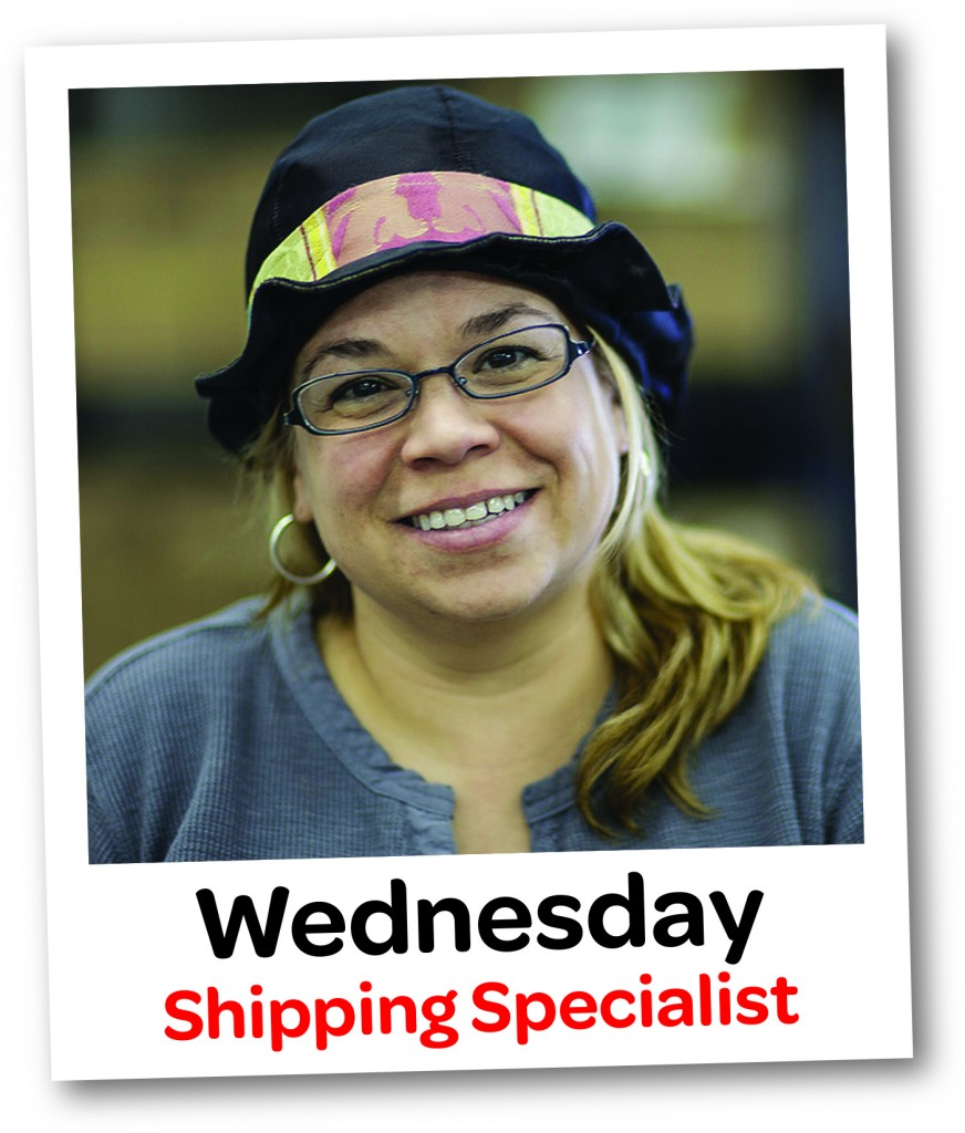 Wednesday shipping specialist stickergiant