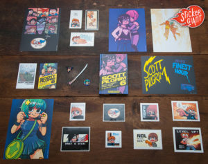 Varieties-of-Custom-Comic-Stickers-from-StickerGiant