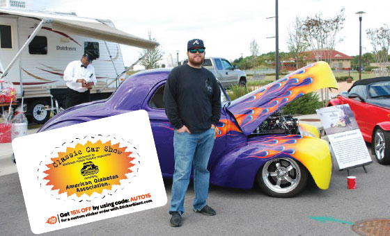 StickerGiant-NWFL-Podiatry-Car-Show-Sponsorship