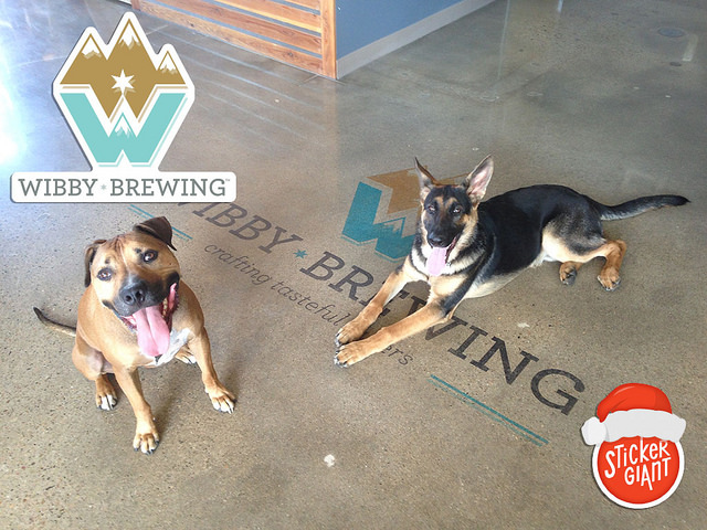 The-Dogs-of-Wibby-Brewing-with-Custom-Sticker-Design