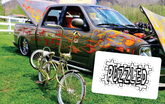 Sponsored-Stickers-Puzzled-Car-Show