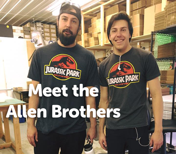 Meet the Allen Brothers from the Production Team at StickerGiant