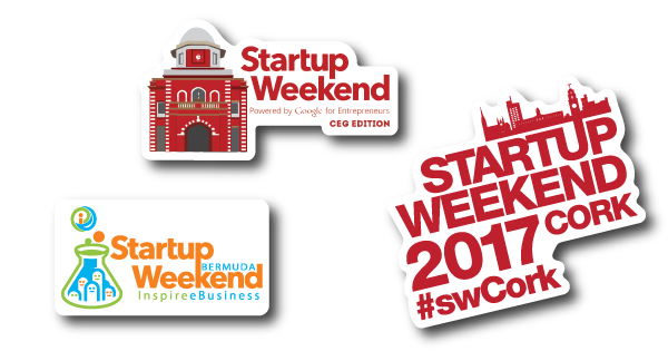 Startup-Weekend-2017-Bermuda-Cork-CEG-Edition-StickerGiant-Sponsored-Stickers