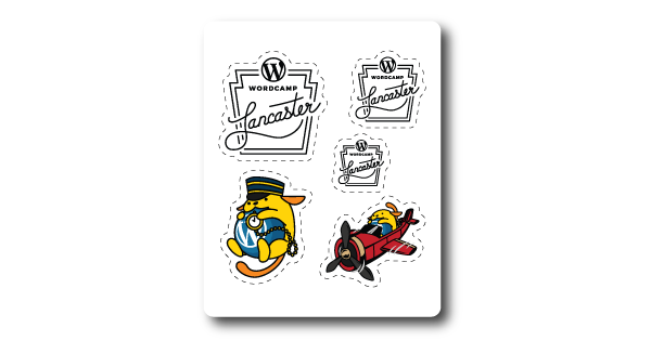 WordCamp-Lancaster-2017-Sponsored-Stickers