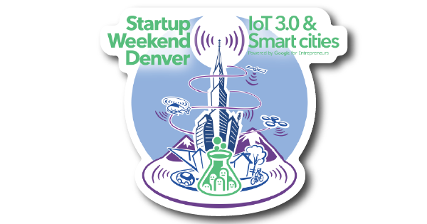 Startup Weekend Denver | IoT 3.0 and Smart Cities 2017 Sponsored Stickers Blog