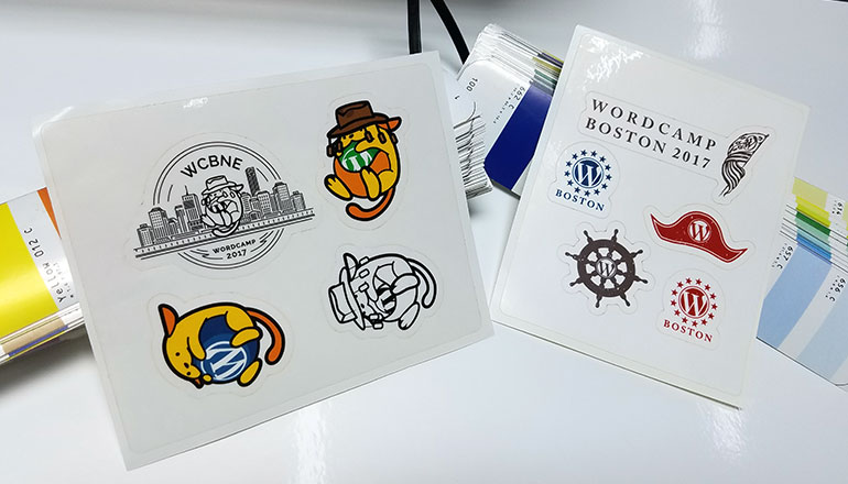 StickerGiant-Sticker-Sheets-WordCamp-Boston-Brisbane-2017