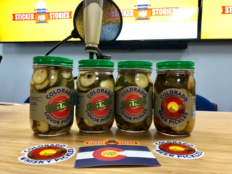 Brining Cucumbers and Talking Matte Labels with Colorado Liquor