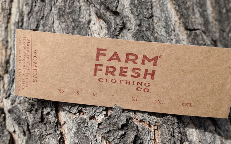 StickerGiant-2018-Farm-Fresh-Clothing-Brown-Kraft-Paper-Label