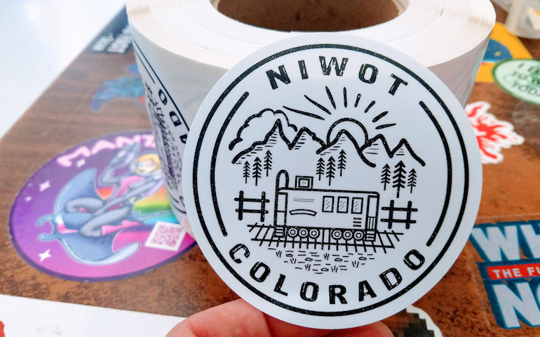matte labels and great design help local artist promote niwot