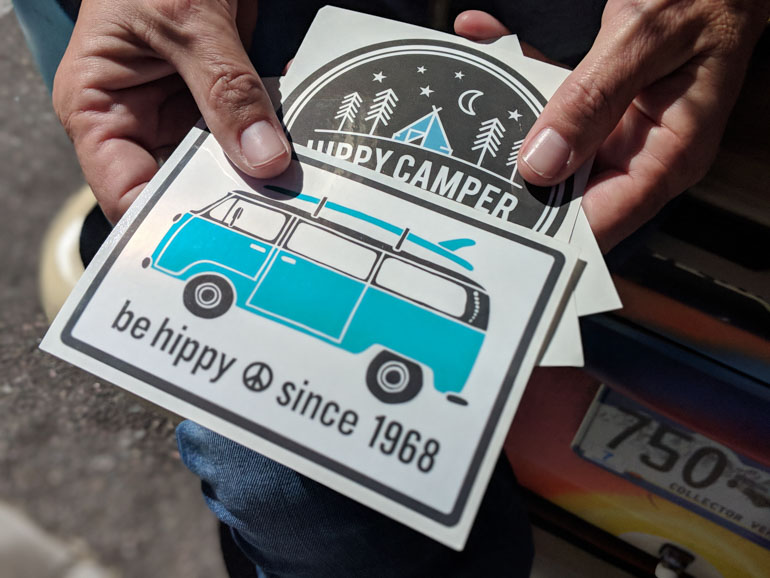 Custom-Kiss-Cut-Stickers-for-Be-Hippy-Lifestyle-Brand
