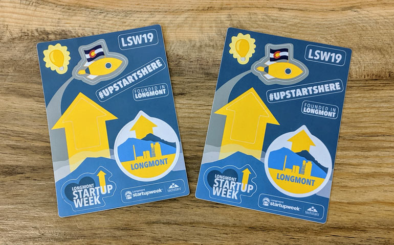 Longmont-Startup-Week-Sticker-Sheets-Custom-Printed-and-Sponsored-by-StickerGiant