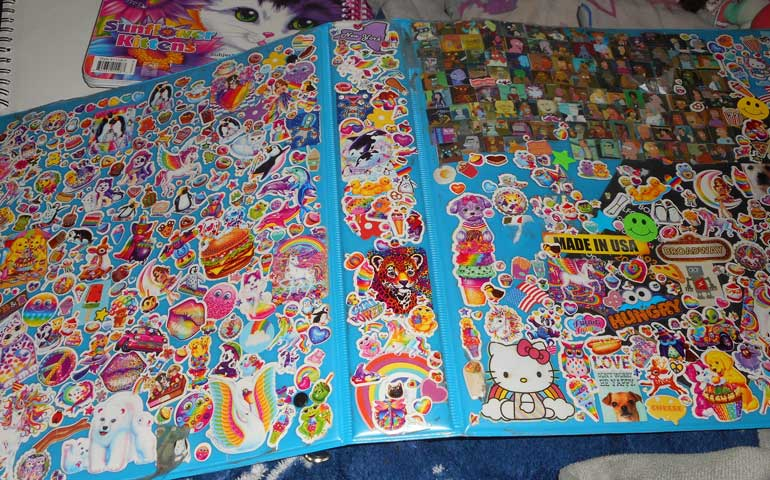 Image-of-Lisa-Frank-stickers-on-a-binder-for-a-StickerGiant-blog