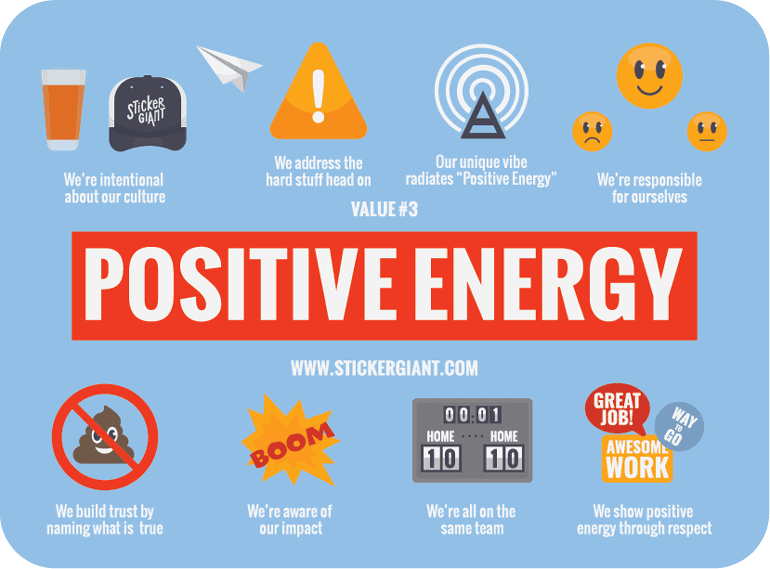 StickerGiant-positive-energy-blog-on-company-cultural-values