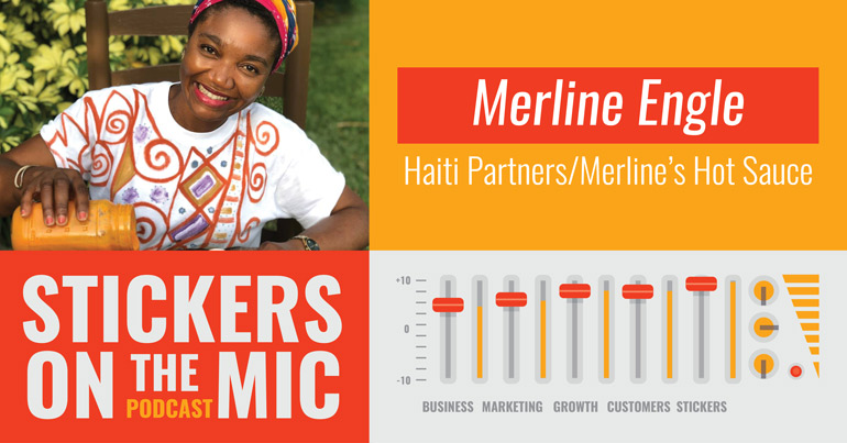 Stickers-On-The-Mic-from-StickerGiant-with-Merline-Engle-Haiti-Partners-blog