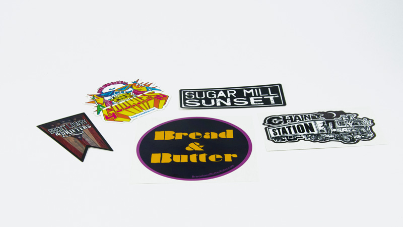 Design Print Custom Band Sticker Sheets