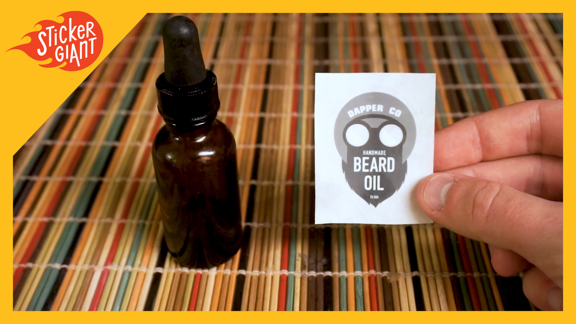 Tips for applying clear labels to products