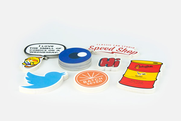 Die cut stickers product image