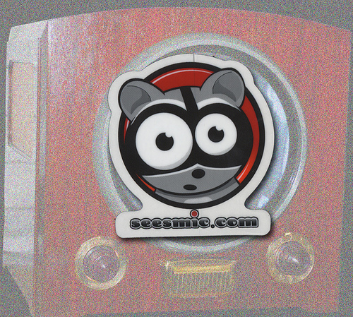 Seesmic-Stickers-from-StickerGiant