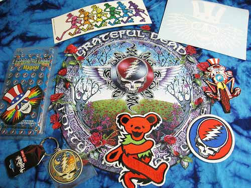 Grateful Dead Band Stickers printed by StickerGiant