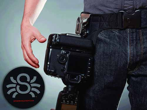 Custom Logo Stickers for Spider Holster Photography Accessories