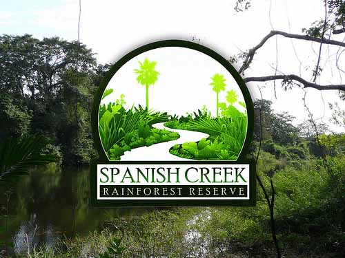 Custom shaped stickers for the Spanish Creek Rainforest Reserve Printed by StickerGiant