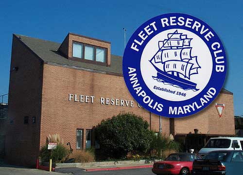 Die Cut Circle Stickers printed by StickerGiant for Fleet Reserve Club of Annapolis