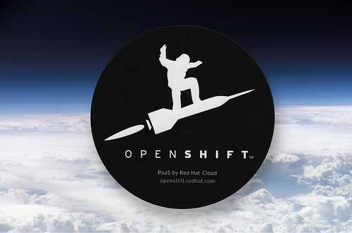 Custom Circle Stickers for OpenShift printed by StickerGiant