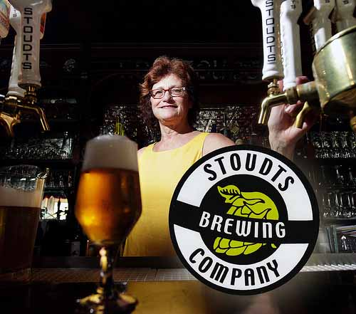 Brewery stickers printed at StickerGiant for Stoudt's Brewing Company