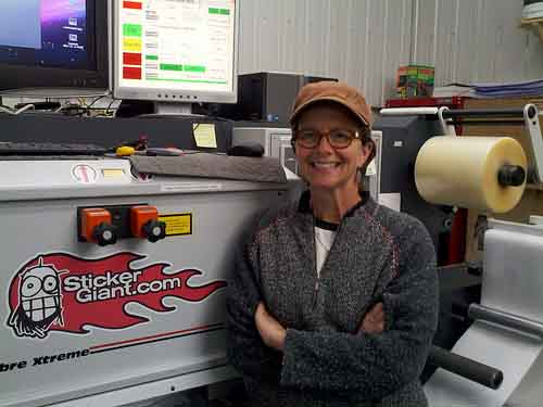 Meet Jane from the Production Team at StickerGiant