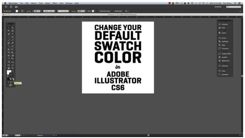 How to Change the Default Outline and Fill in Adobe Illustrator 6 from StickerGiant