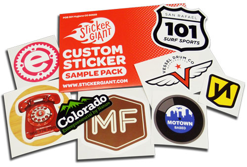 Sample pack example stickergiant
