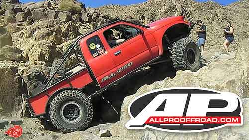 Custom Shaped Stickers for All Pro Off Road Accessories from StickerGiant