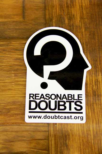 Custom Stickers for www.doubtcast.org Printed by StickerGiant