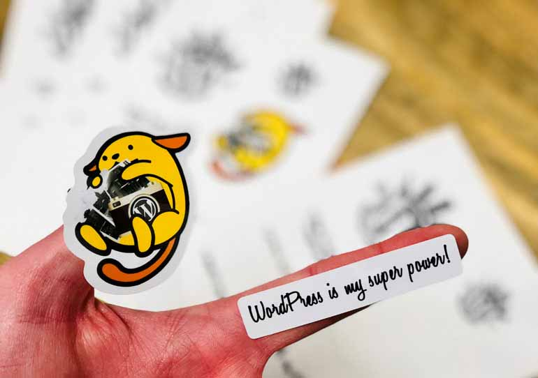WordCamp-Rochester-Sticker-Sheet-Wapuu-2017