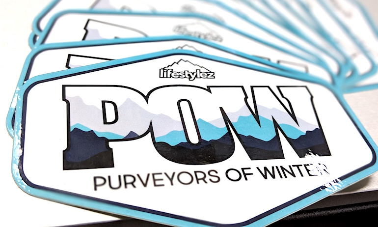 Lifestylez tours use custom shapes to get stoked for powder and snodaze