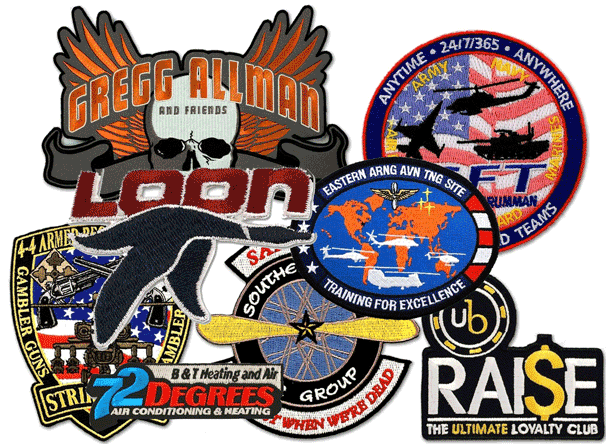 examples of embroidered patches